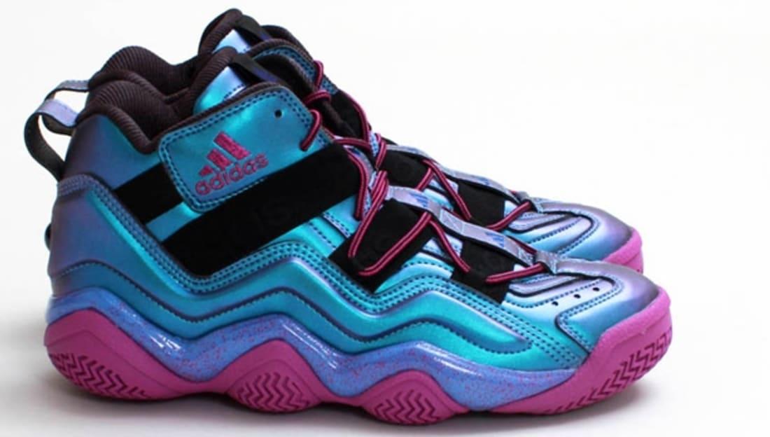 adidas Top Ten 2000 Iridescent Black/Joy Blue-Vivid Pink