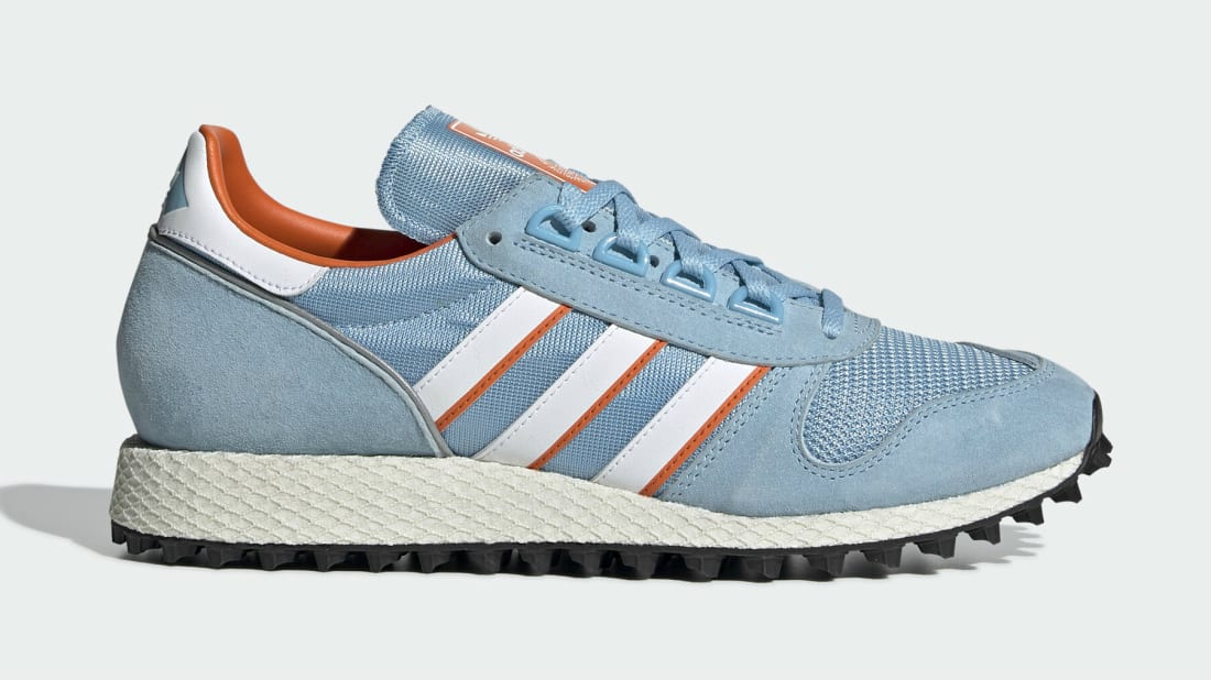 Adidas Silverbirch SPZL Clear Blue/Cloud White/Orange