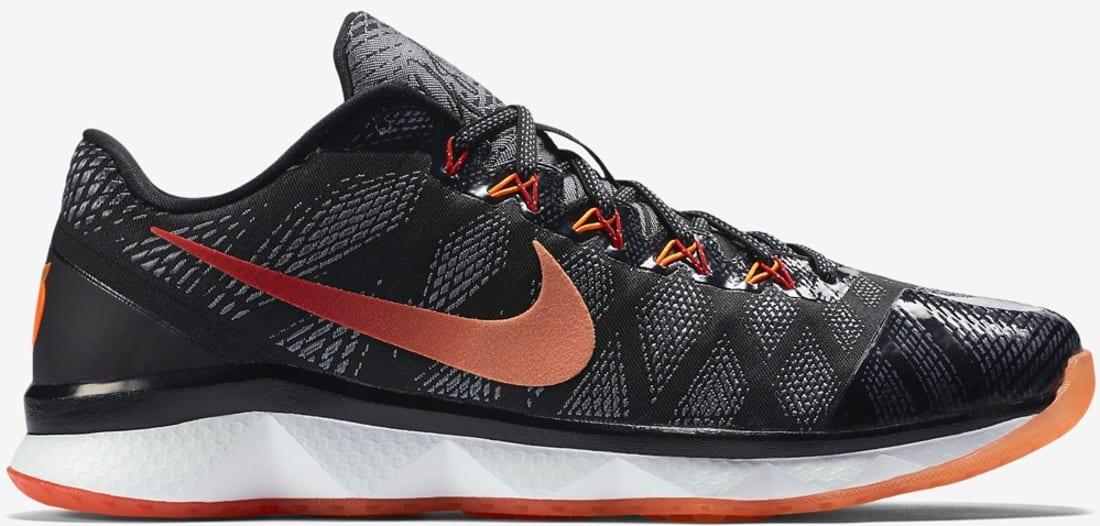 Nike Zoom CJ Trainer 3 Black/White-University Red-Sunset Glow