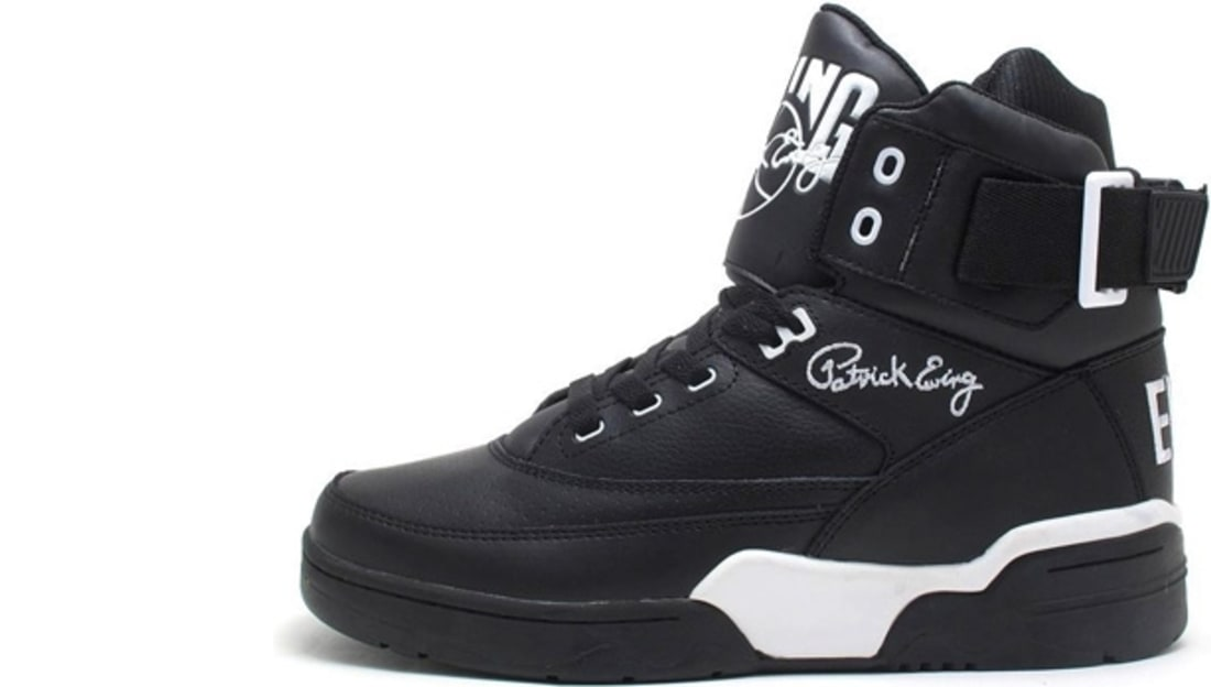 outlet store 1cf4b 3df61 Ewing Athletics Ewing 33 Hi Black White