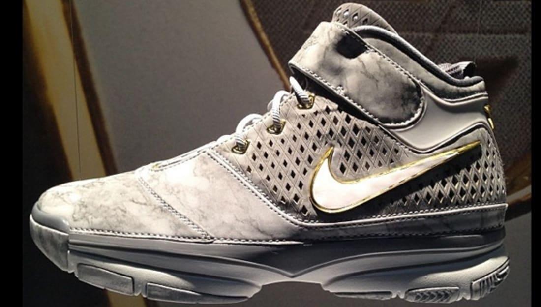 a69492543ada Nike Zoom Kobe II Prelude Wolf Grey White-Cool Grey-Pure Platinum ...