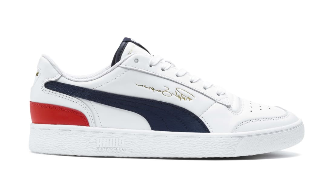 Puma Ralph Sampson Lo Puma Red/Surf the Web Blue