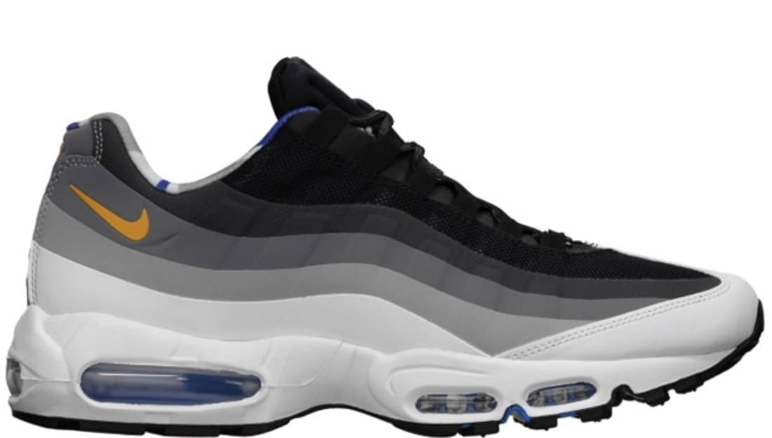 wholesale dealer 3835b ed8bb Nike Air Max  95 QS London Black Dark Gold Leaf-Stadium Grey-