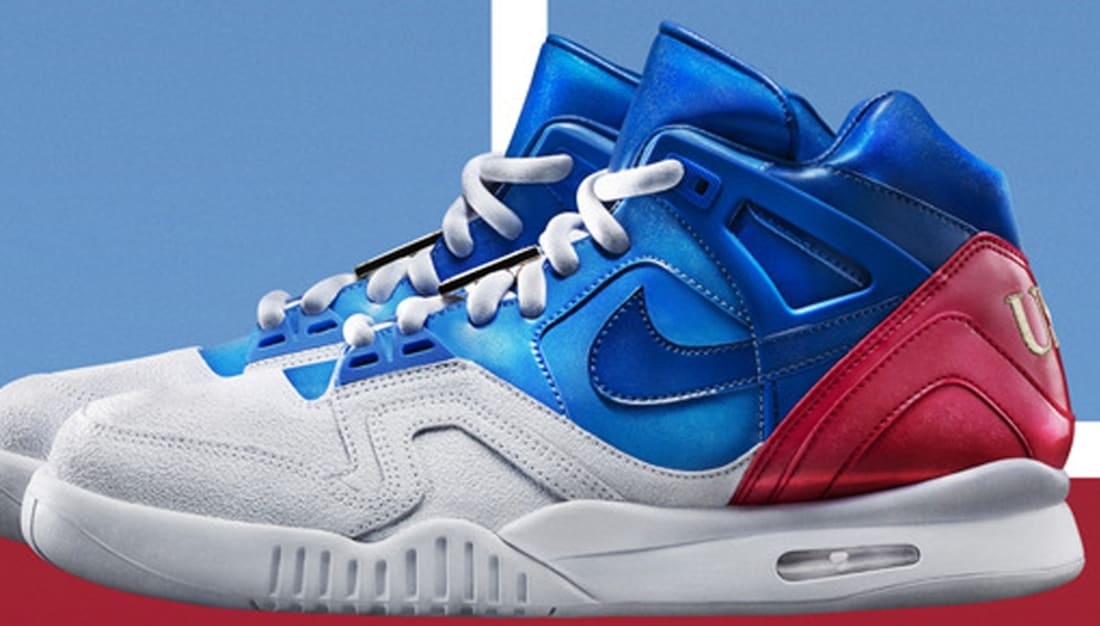 Nike Air Tech Challenge II SP White/Prize Blue-University Blue-Gym Red