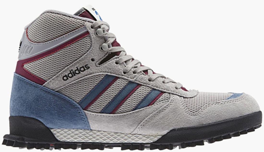 adidas Originals Mountain Marathon TR Mid GreyBlue Burgundy