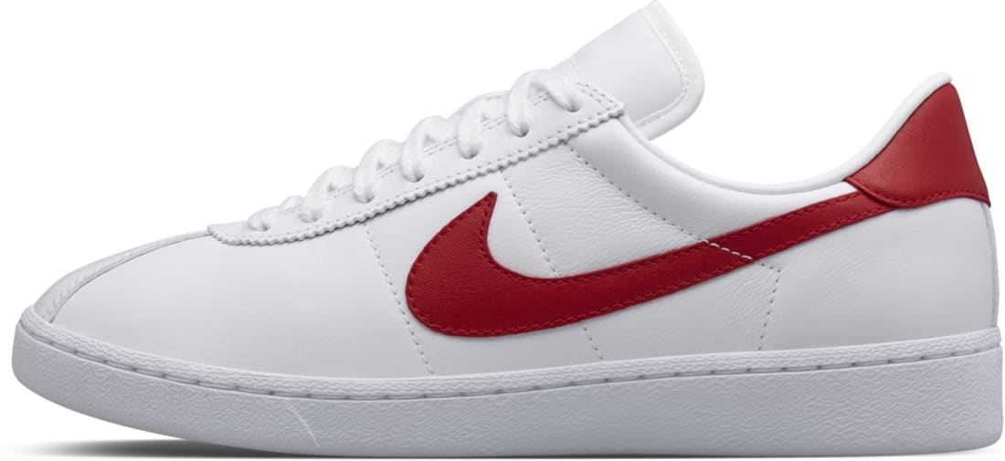 newest 21c06 85461 NikeLab Bruin Leather McFly White Gym Red