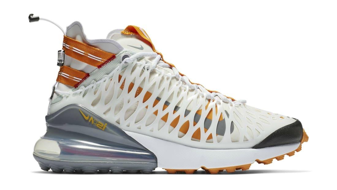Nike Air Max 270 ISPA White/Orange
