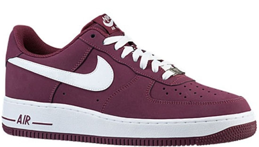 buy popular da916 8141f Nike Air Force 1 Low Cherrywood Red/White | Nike | Sole Collector