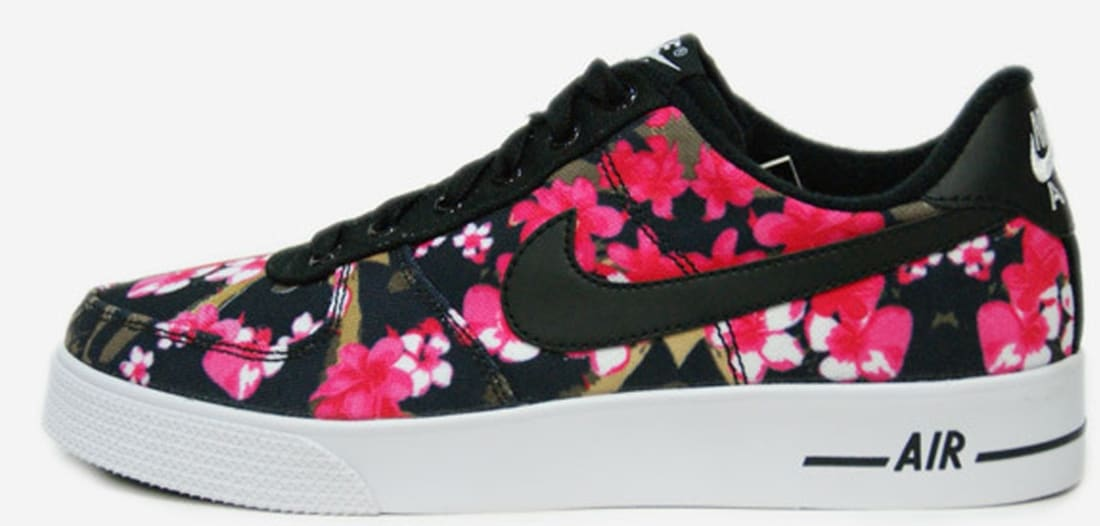 Qué ligero Afirmar  Nike Air Force 1 AC GS Black/Black-Hot Pink | Nike | Sole Collector