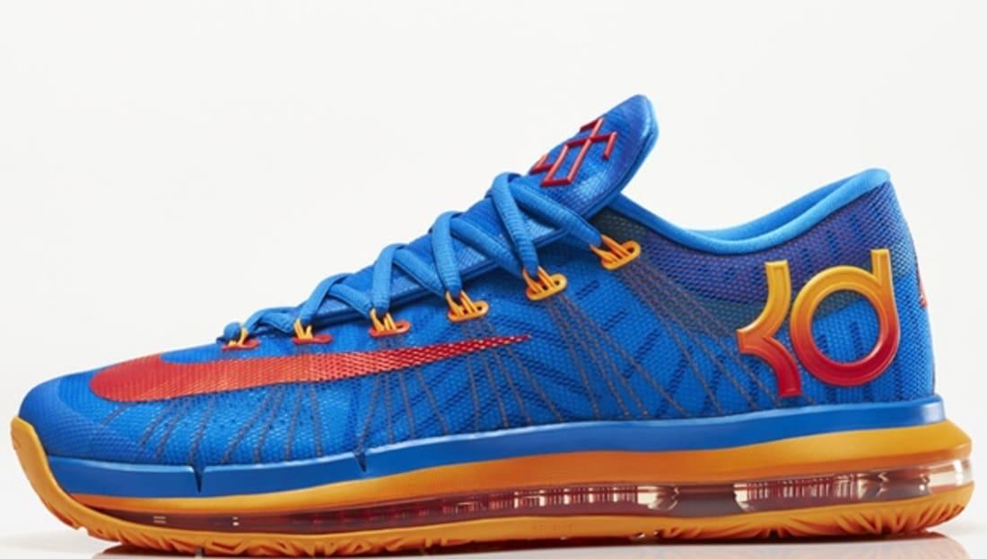 Nike KD VI Elite Photo Blue/Atomic Orange-Vivid Blue-Team Orange