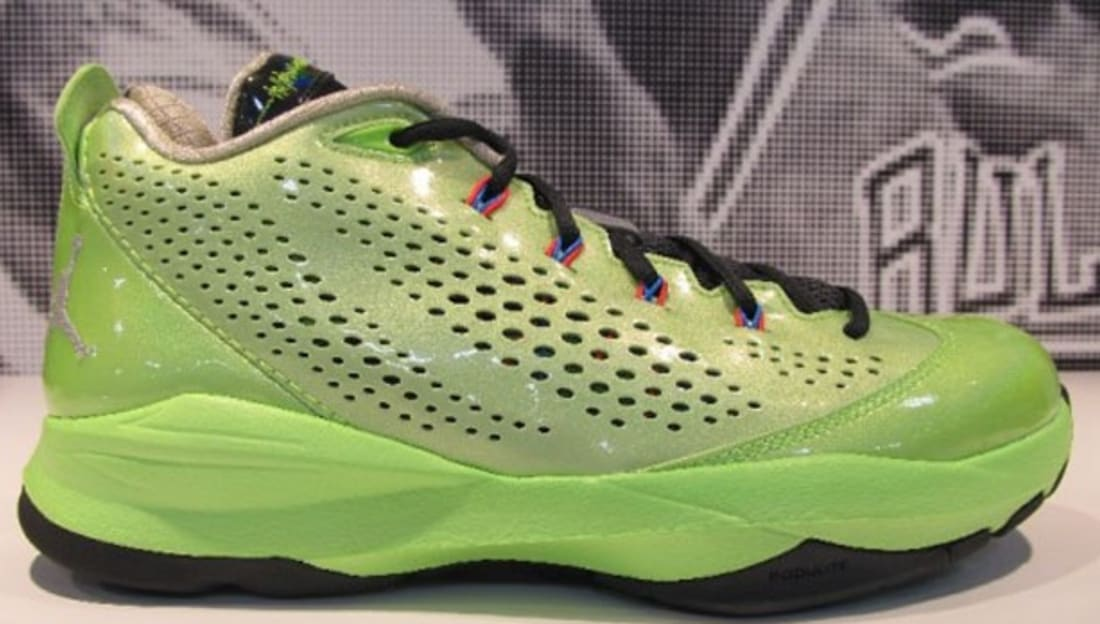 Jordan CP3.VII Electric Green/Metallic Silver-Anthracite