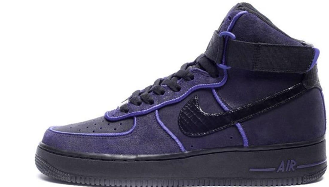 Nike Air Force 1 High Black/Black-Court