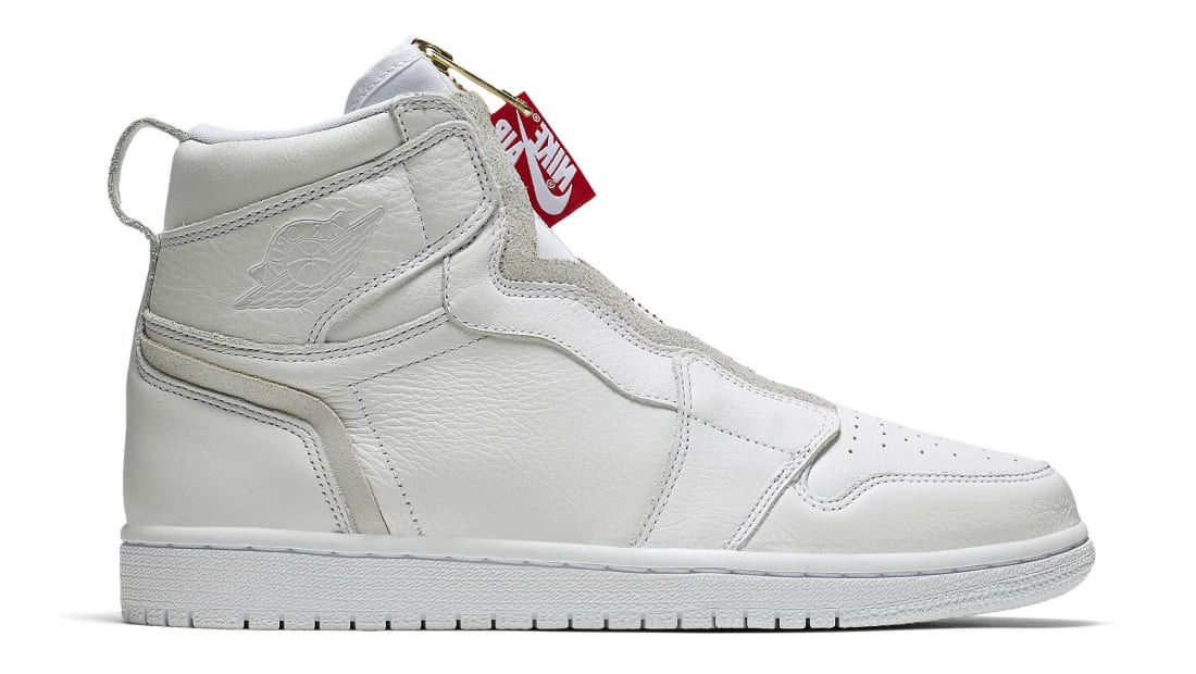 best loved e8f27 ea059 Air Jordan 1 Retro High Zip White University Red