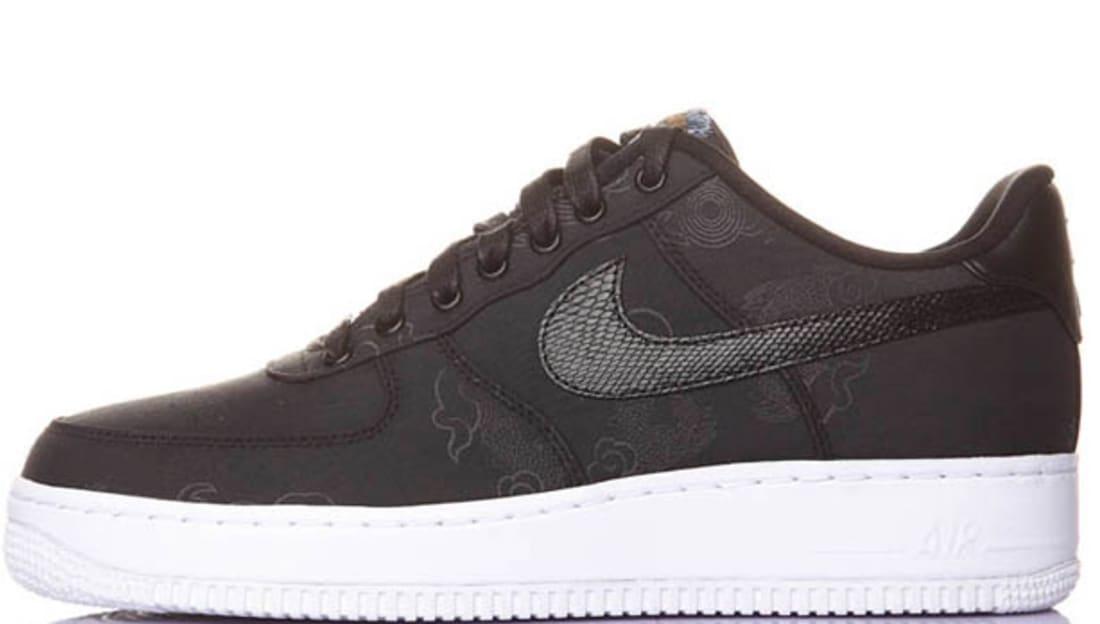 Nike Air Force 1 Low Supreme Insideout TZ Black/Black