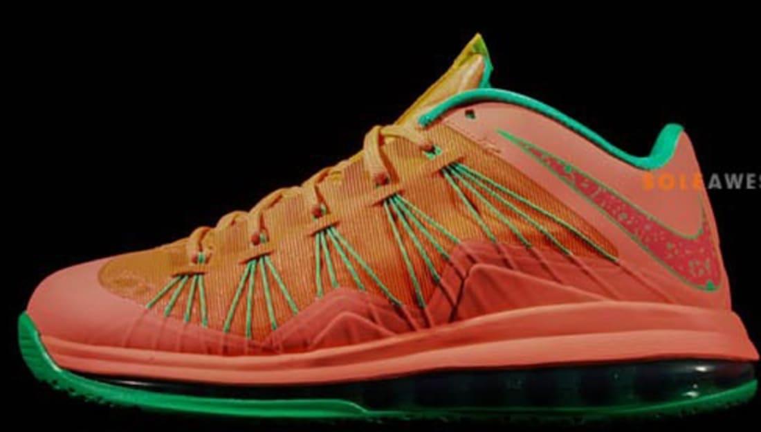 Nike · Nike LeBron · Nike LeBron 10 (X). Nike LeBron X Low Watermelon  Bright Mango 88895ce9070a