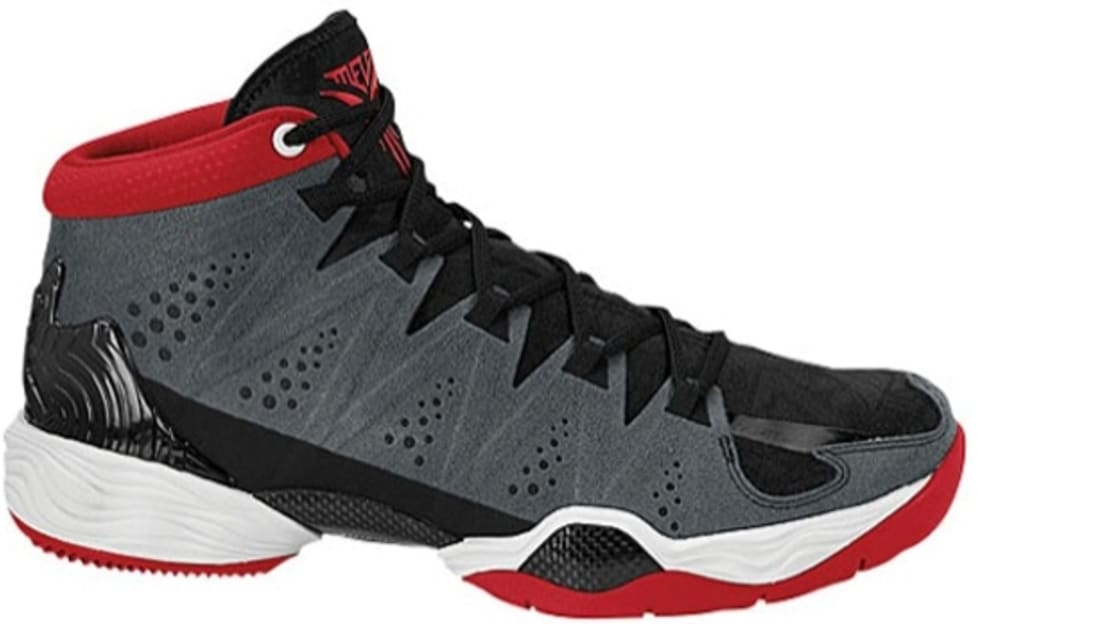 Jordan Melo M10 Anthracite/Gym Red-Black-White