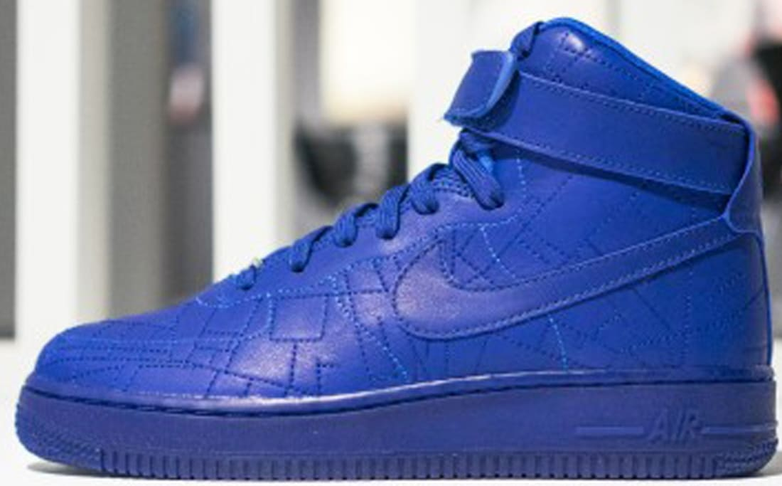 Nike Air Force 1 High Women S Deep Royal Blue Deep Royal Blue