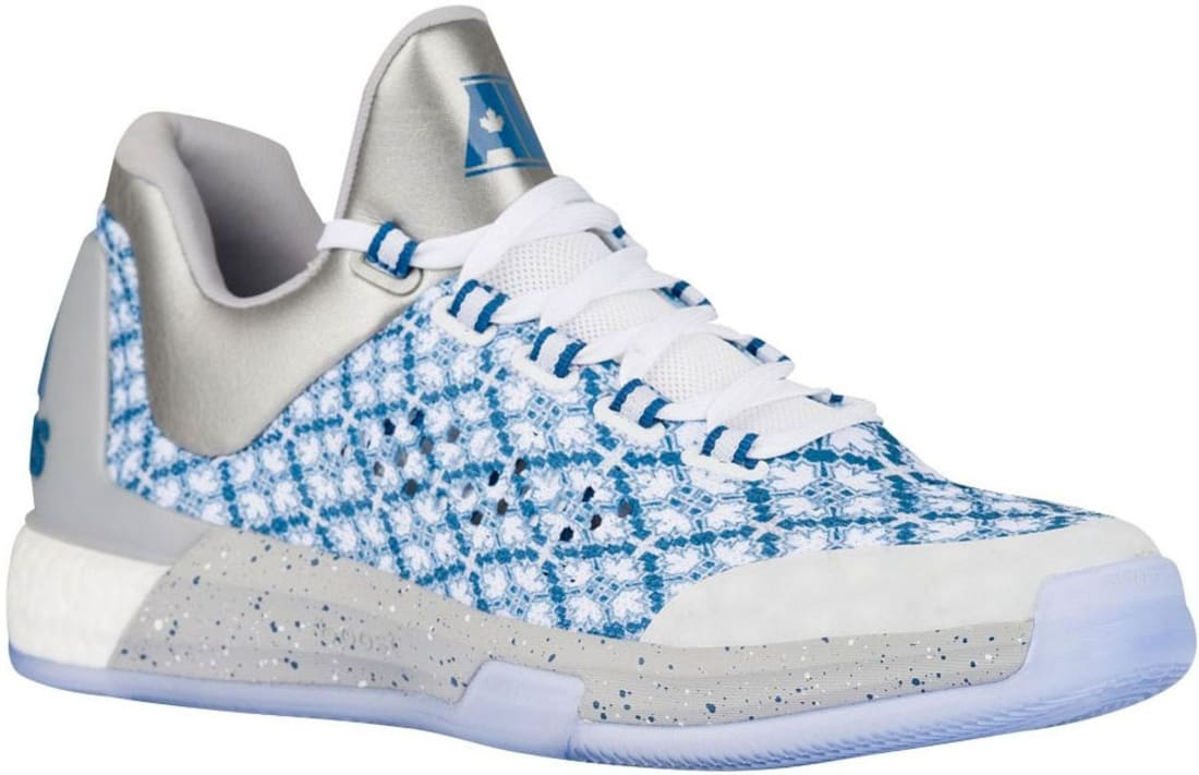 half off b509f 2916d adidas Crazylight Boost 2015 White Silver Metallic-Capitol Blue