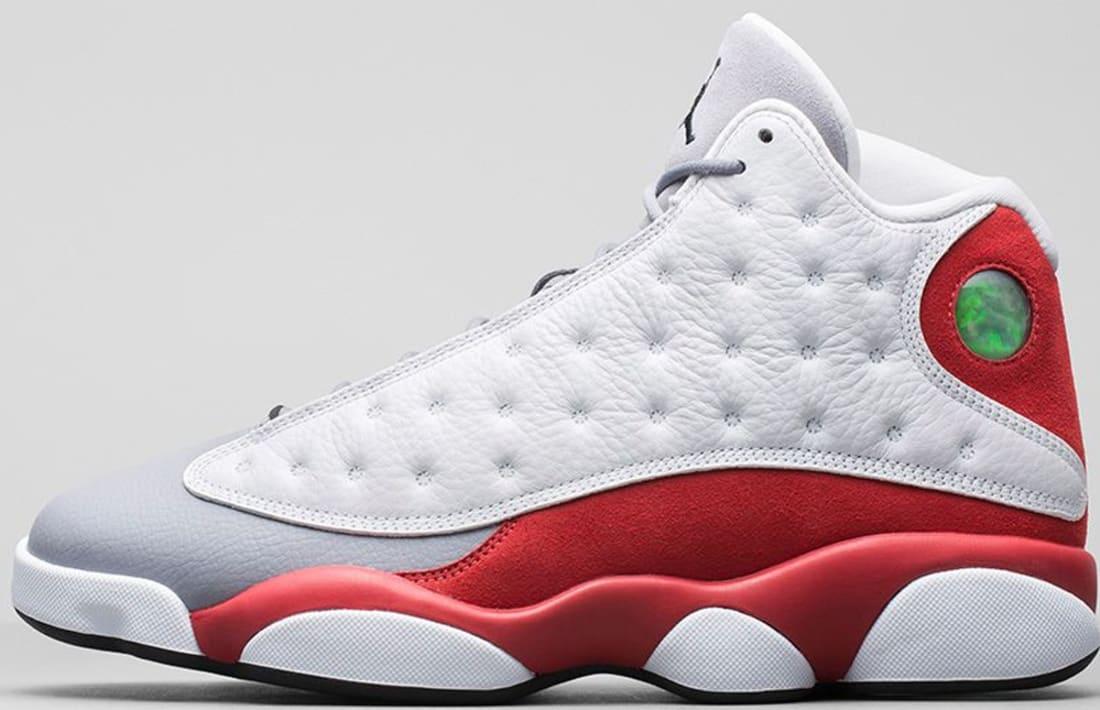 Air Jordan 13 Retro White/Black-Gym Red