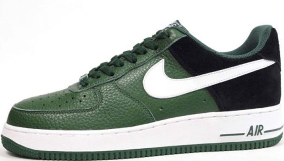 Nike Air Force 1 Low Gorge Green White-Black  7e87a68c344e