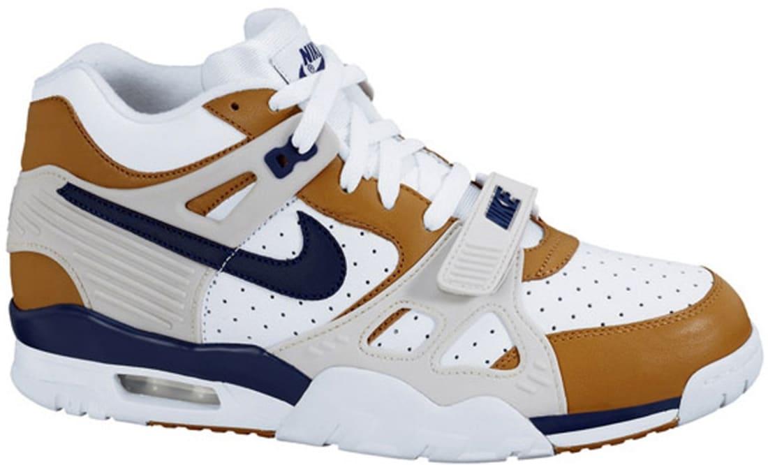 Nike Air Trainer III Premium WhiteMidnight Navy Ginger