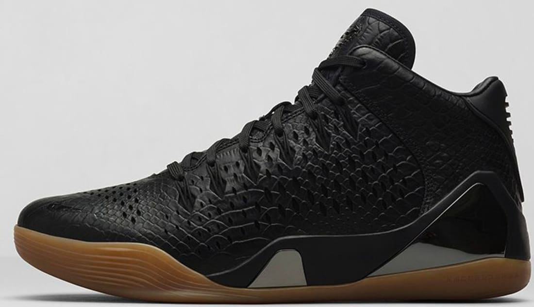 the latest 8eb68 3c82b Nike Kobe IX Mid EXT Black/Black | Nike | Sole Collector