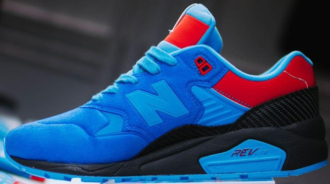New Balance 580 Blue/Red