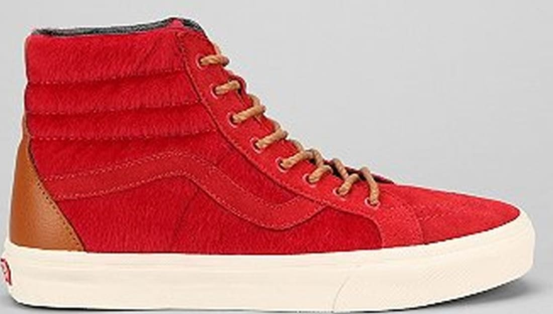 Vans Sk8-Hi Chili Pepper Red/Chili Pepper Red