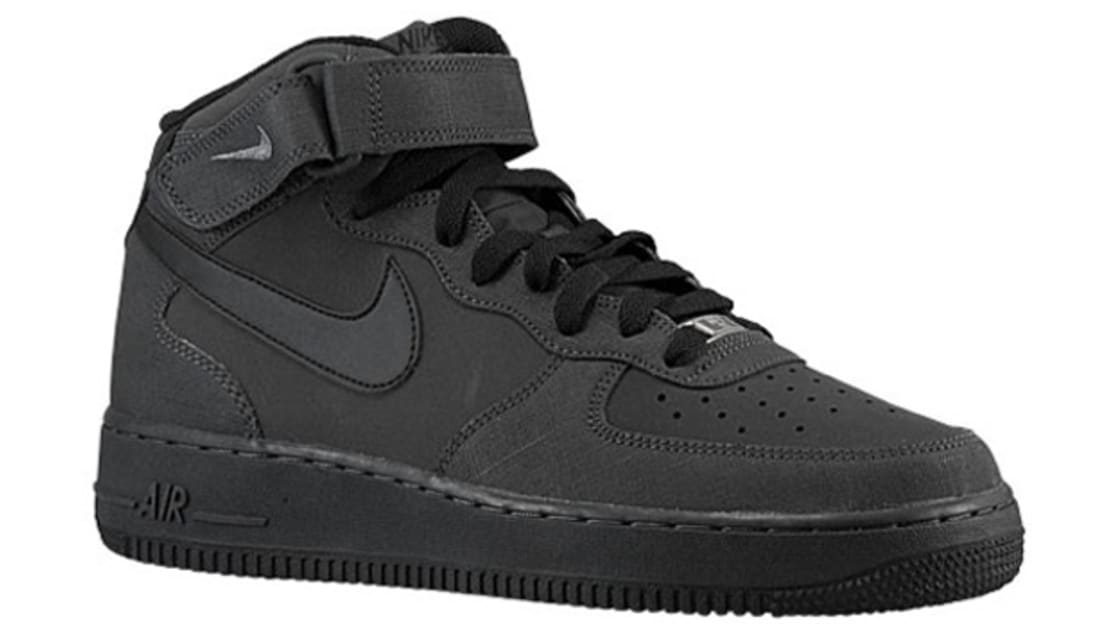 Nike Air Force 1 Mid Dark CharcoalBlack | Nike | Sole Collector