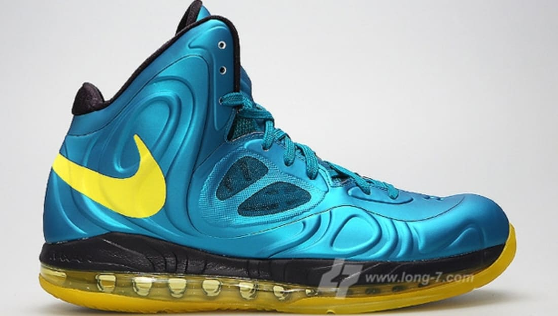 b873cedae26 Nike Air Max Hyperposite Tropical Teal Sonic Yellow-Blueprint