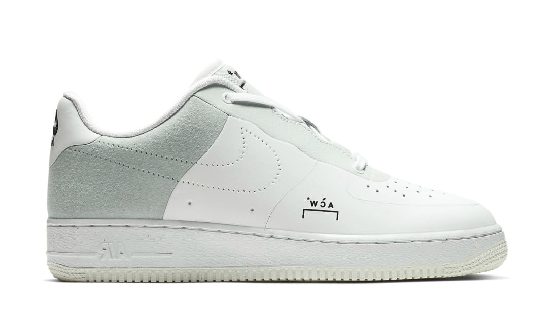 bd71868450 A-Cold-Wall  x Nike Air Force 1 Low White Light Grey-Black