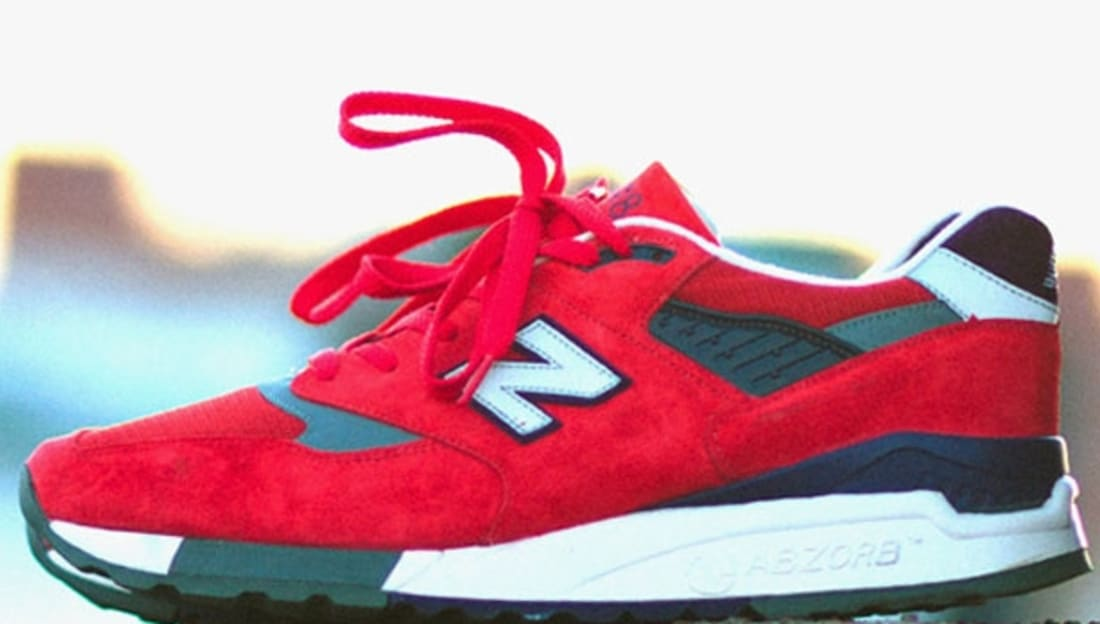 new style c2465 eea7d New Balance 998 Red/Purple-Grey | New Balance | Sole Collector