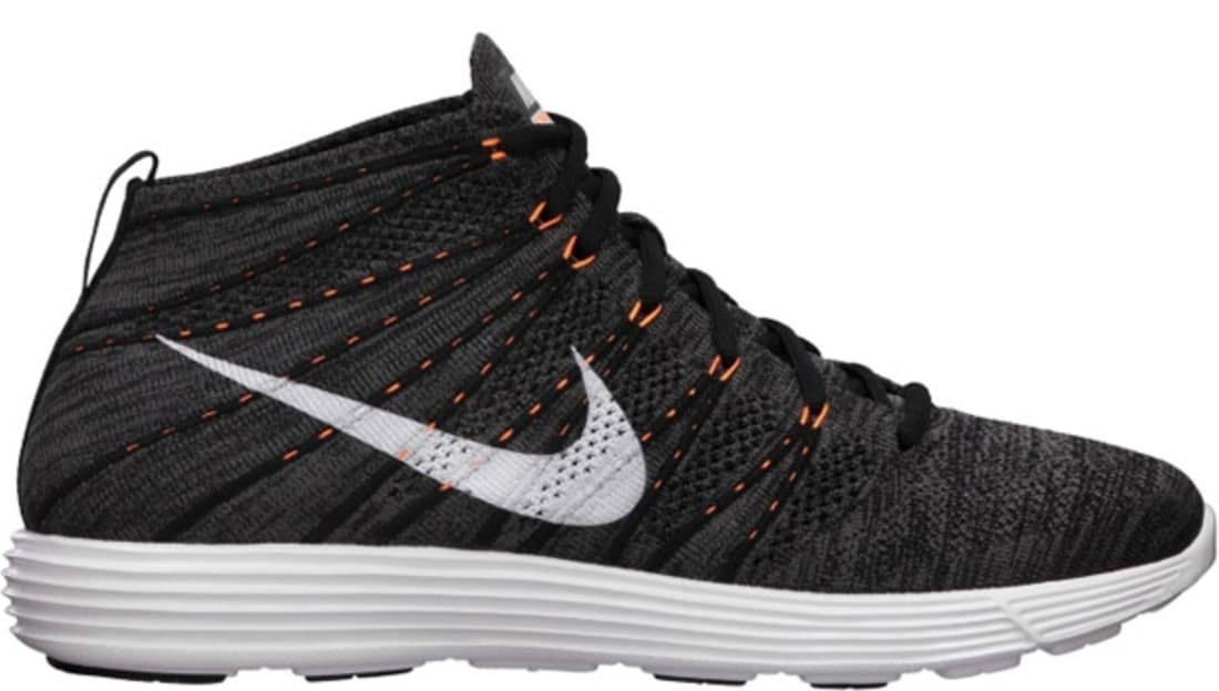 ce0da30dcab132 Nike · Nike Sportswear · Nike Lunar Flyknit Chukka. Nike Lunar Flyknit  Chukka Midnight Fog White-Total Orange-White