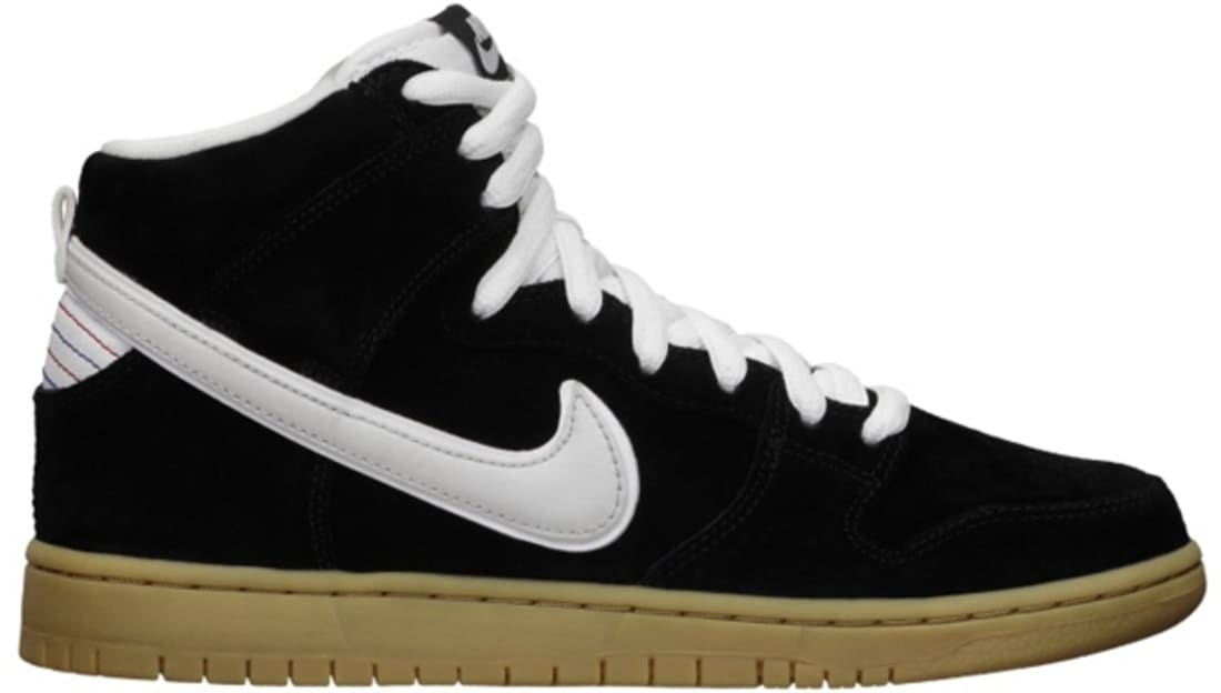 best sneakers e5fa4 41e4a ... get nike dunk high premium sb black white gum light brown nike sole  4b937 3332f
