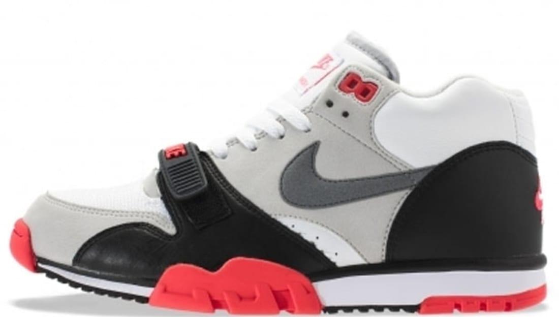 Nike Air Trainer 1 Mid Premium QS White/Cool Grey-Cement Grey-Black