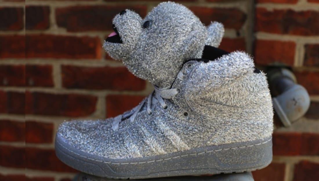 adidas JS Bear Silver/Silver