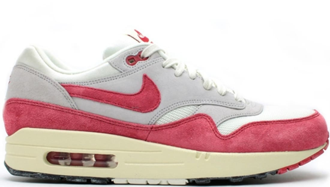 NIKE AIR MAX 1 OG | SAILUNIVERSITY RED NATURAL GREY BLACK