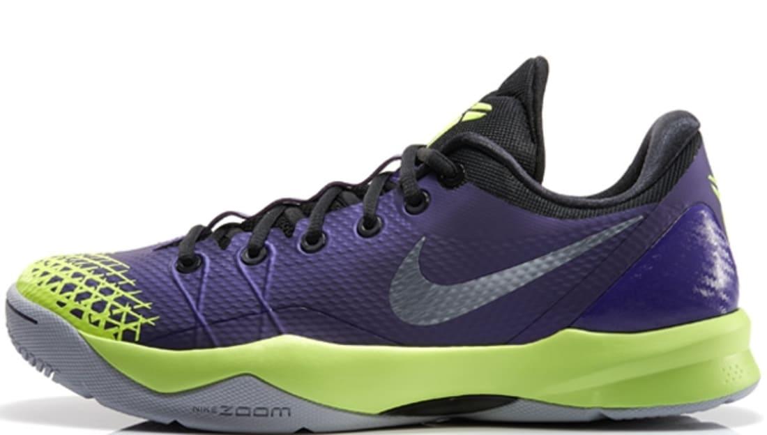 info for 62585 5e063 Nike Zoom Kobe Venomenon 4 Court Purple Wolf Grey-Volt