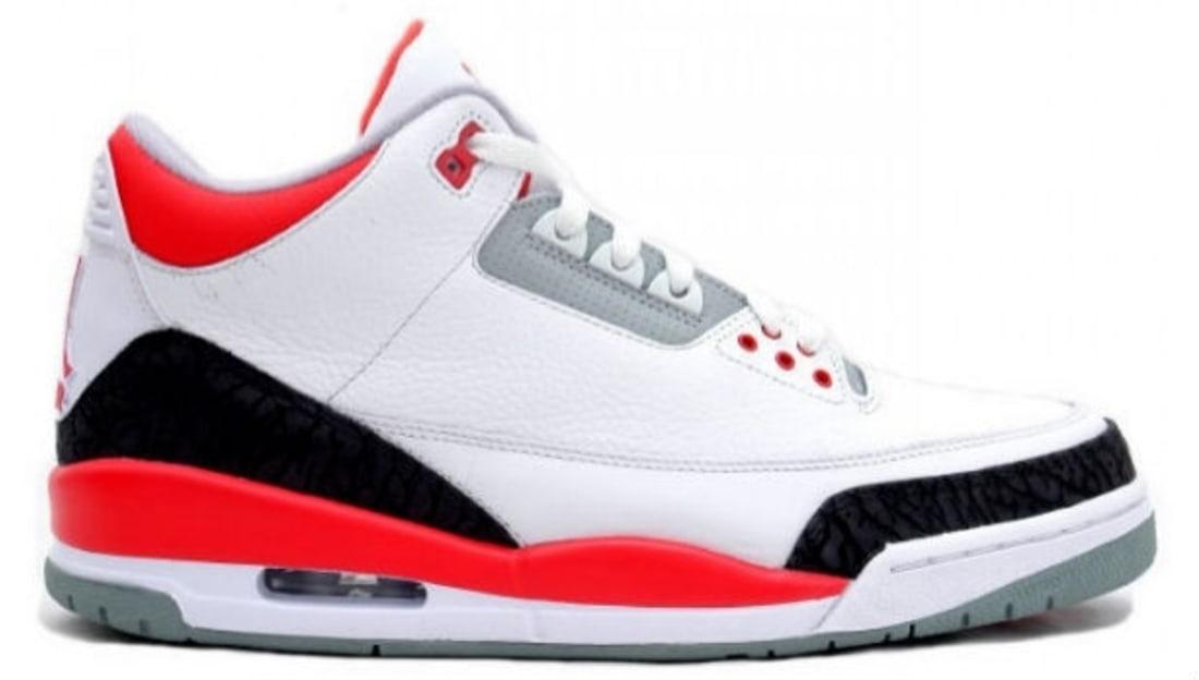 Air Jordan 3 Retro Fire Red '13