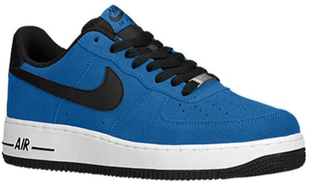 Nike Air Force 1 Low Military Blue Black Nike Sole Collector