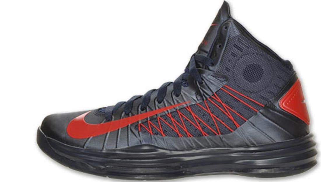 new product 3cb3d 46f10 Nike Lunar Hyperdunk 2012+ USA Away