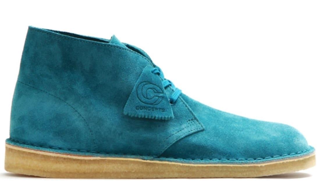 Clarks Originals Desert Palmer Turquoise/Crepe