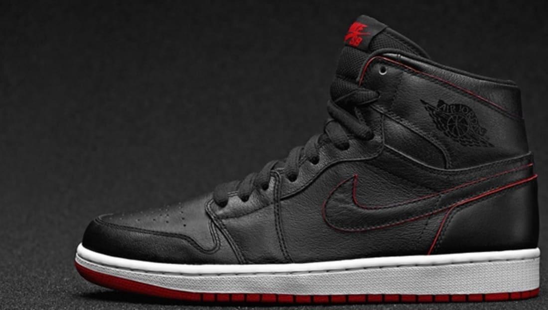 Nike SB Air Jordan 1 Black/Black
