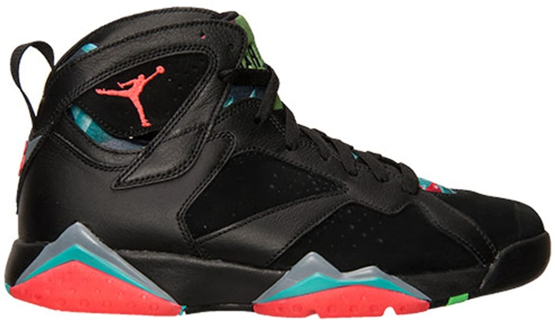 Air Jordan 7 Retro Black/Blue Graphite-Retro-Infrared 23
