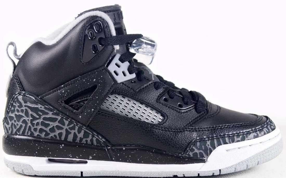 Jordan Spiz'ike GS Black/Cool Grey-Wolf Grey