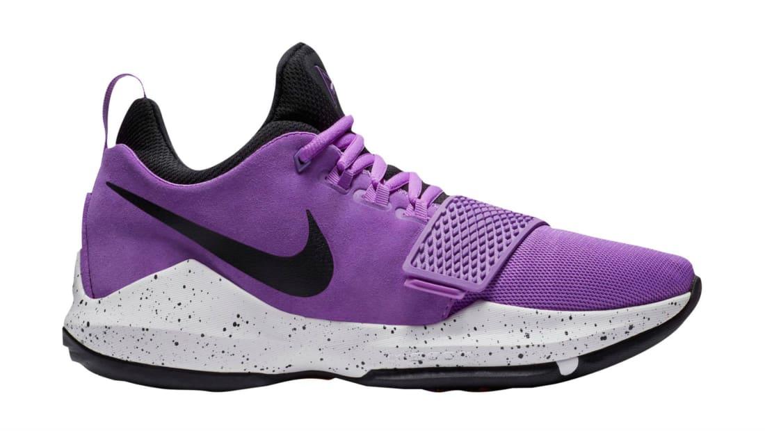 Nike PG 1 Bright Violet/Black/White-Total Orange