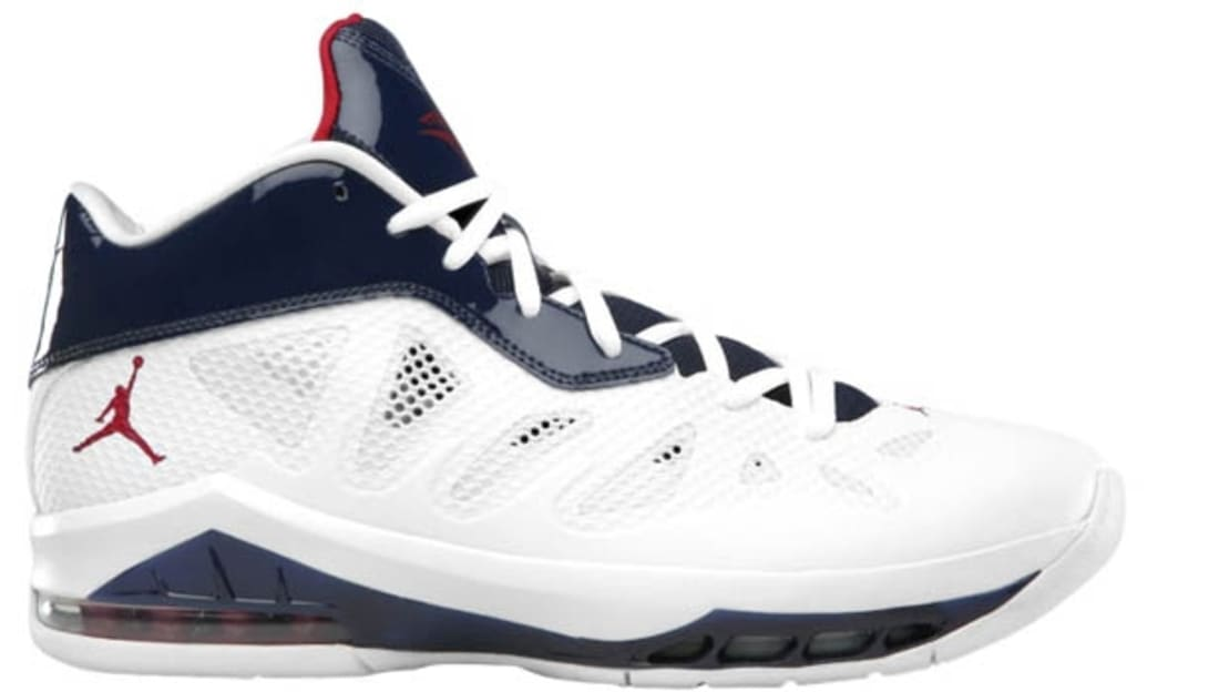 Jordan Melo M8 Advance White/Gym Red-Midnight Navy