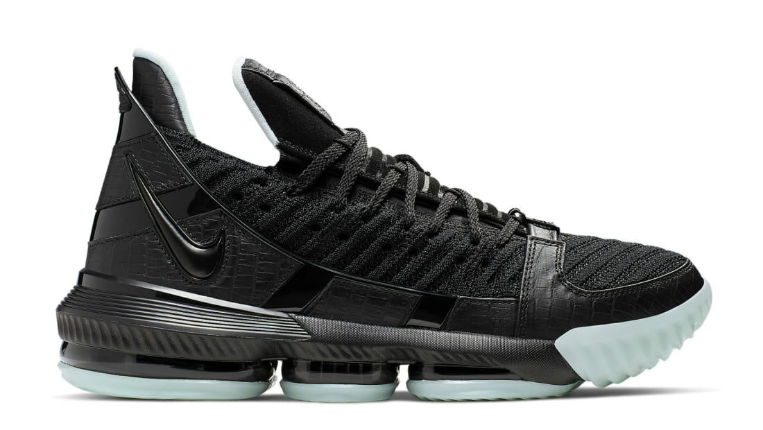 Nike LeBron 16 Black/Black-Glow