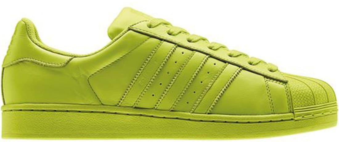 adidas Superstar Solar Yellow/Solar Yellow-Solar Yellow