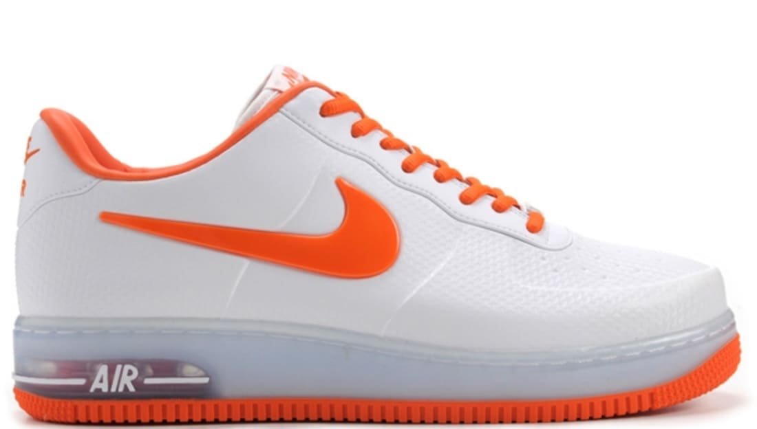 6d80c639be9 Nike Air Force 1 Foamposite Pro Low QS White Safety Orange